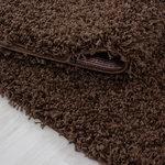 Life Shaggy 1500 vloerkleed Bruin