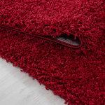 Life Shaggy 1500 vloerkleed Rood