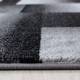 Miami vloerkleed zwart 6560_