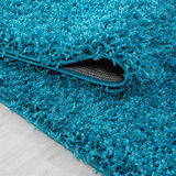 Vloerkleed Dream Shaggy Turquoise 4000_