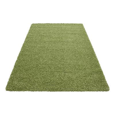 Life Shaggy 1500 vloerkleed Groen
