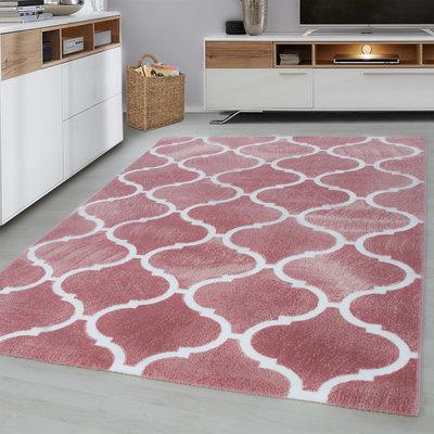 Toscana vloerkleed Pink 3180