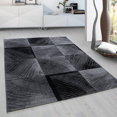 Vloerkleed Plus Zwart 8003